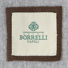 $1525 Luigi Borrelli Brown Jacket - Size 40 (US) / 50 (EU) - (OW01105G00160)