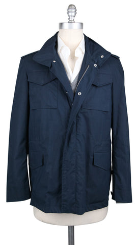 Borrelli Navy Blue Windbreaker