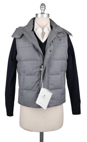 Luigi Borrelli Light Gray Vest