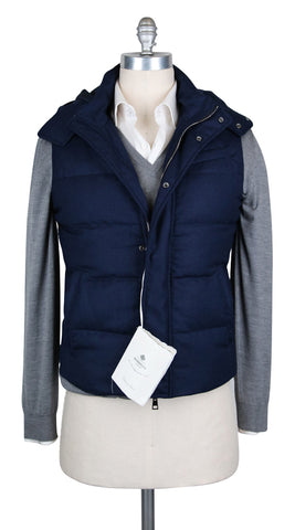 Luigi Borrelli Midnight Navy Blue Vest