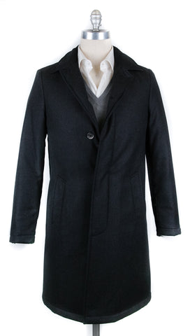 Luigi Borrelli Charcoal Gray Coat