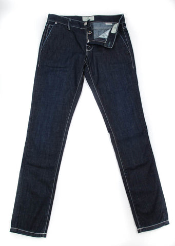 Luigi Borrelli Denim Blue Jeans - Super Slim - 38 US / 54 EU