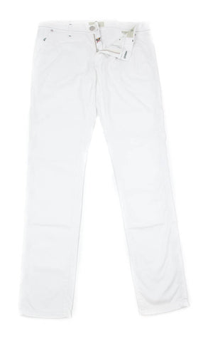 Luigi Borrelli White Pants - 38 US / 54 EU