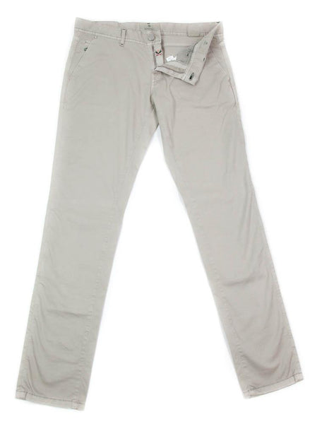 New $400 Luigi Borrelli Beige Solid Pants - Super Slim - 34/50 - (PAR29310523)
