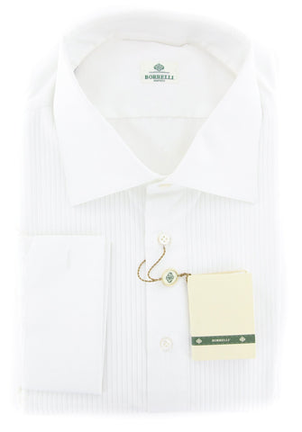 Luigi Borrelli White Shirt - Slim