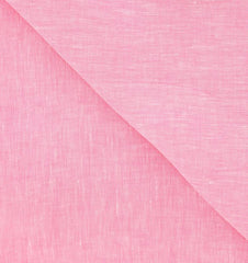 "New $250 Luigi Borrelli Pink Solid Long Scarf - 62"" x 27"" - (LBSS1223)"