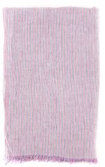 "New $250 Luigi Borrelli Pink Striped Long Scarf - 76"" x 27"" - (LBSS12194)"