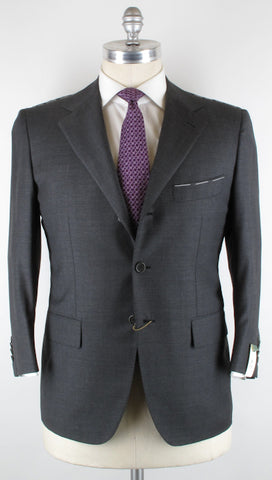 Luigi Borrelli Gray Suit – Size: 46 US / 56 EU