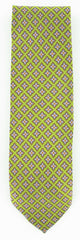 New $195 Luigi Borrelli Green Silk Tie