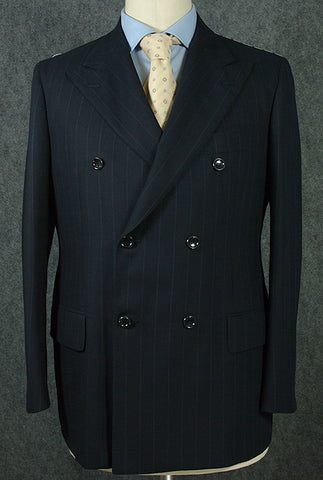 Stile Latino Navy Blue Suit – Size: 40 US / 50 EU