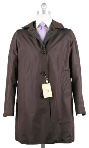 Luigi Borrelli Brown Coat – Size: 40 US / 50 EU