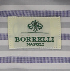Luigi Borrelli Light Blue Shirt - 17 US / 43 EU