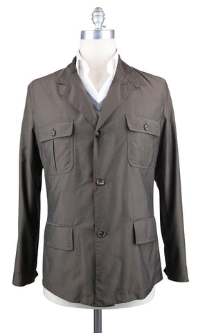 Luciano Barbera Brown Jacket - 46 US / 56 EU