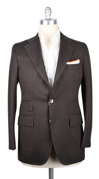 New $3600 Orazio Luciano Brown Sportcoat 40/50