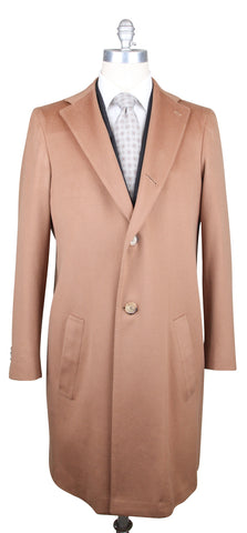 Orazio Luciano Brown Coat – Size: 40 US / 50 EU