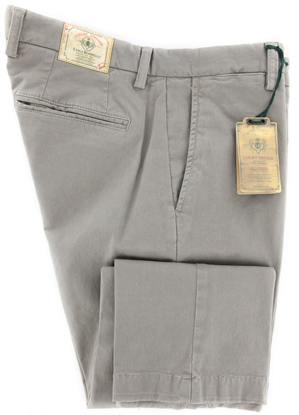Luigi Borrelli Gray Pants – Size: 36 US / 52 EU  Pants - ShopTheFinest- Luxury  Italian Designer Brands for men
