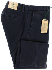 Luigi Borrelli Navy Blue Pants – Size: 40 US / 56 EU  Pants - ShopTheFinest- Luxury  Italian Designer Brands for men