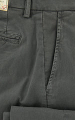New $375 Borrelli Dark Green Solid Pants - 38/54 - (10SLIMCERN/LDY/TORTORA)