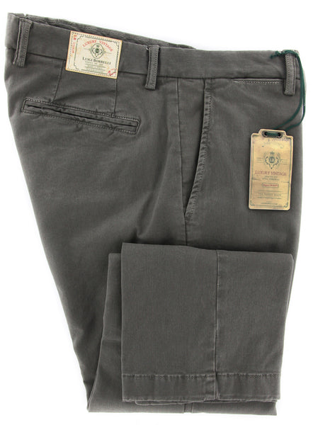 Luigi Borrelli Dark Green Pants – Size: 40 US / 56 EU  Pants - ShopTheFinest- Luxury  Italian Designer Brands for men