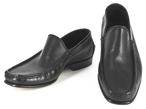 Kiton Black Shoes – Size: 6.5 US / 6 UK