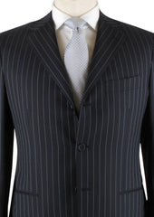 New $6600 Kiton Navy Blue Suit 44/54