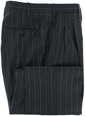 New $6000 Kiton Charcoal Gray Suit 38/48