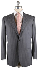 New $7200 Kiton Gray Suit 44/54