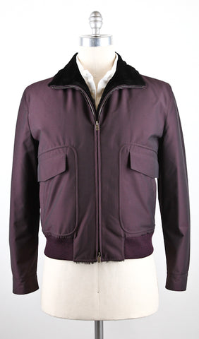 Kiton Purple Jacket – Size: 42 US / 52 EU