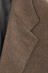 New $6000 Kiton Brown Sportcoat 44/54
