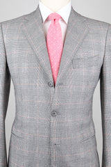 New $6300 Cesare Attolini Light Gray Suit - 38/48 - (AUK30PUA3/A7WA05/G21)
