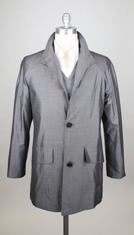 Kiton Gray Jacket – Size: 38 US / 48 EU