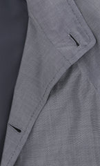 New $3900 Kiton Gray Nail Head Jacket -  4 Button - 38/48 - (UG0CP04/7F3007)