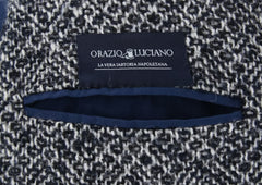 New $4200 Orazio Luciano Navy Blue Wool Fancy Coat - (OLFINTOM083) - Parent