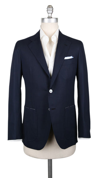 New $3900 Orazio Luciano Midnight Navy Blue Sportcoat - (OL102175) - Parent