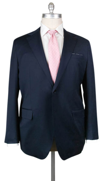 New $4800 Principe d'Eleganza Navy Blue Wool Solid Suit - 54/64 - (2B293131)