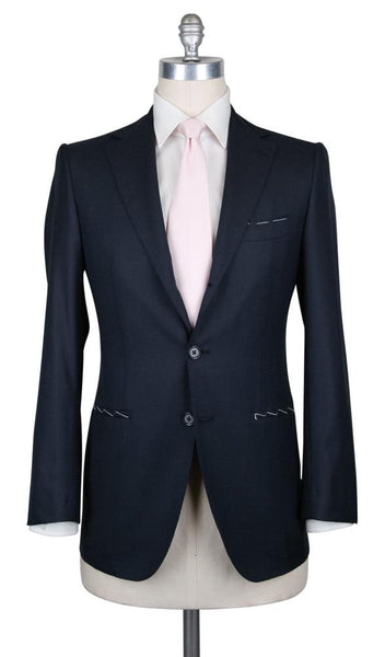New $4800 Principe d'Eleganza Midnight Navy Blue Suit - (AUTSB90A81111) - Parent