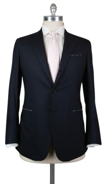 Principe d'Eleganza Navy Blue Suit - 42 US / 52 EU  Suits - ShopTheFinest- Luxury  Italian Designer Brands for men