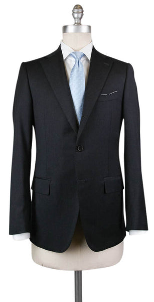 New $4800 Principe d'Eleganza Charcoal Gray Wool Suit - 44/54 - (B90MILANO)