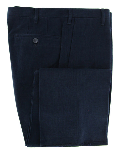 New $375 Rota Midnight Navy Blue Solid Pants - Full - (1002C661007) - Parent
