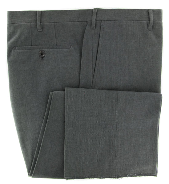 New $375 Rota Gray Solid Pants - Full - (1002C661086) - Parent