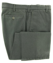 New $350 Rota Green Solid Pants - Full - (2002C2907063) - Parent