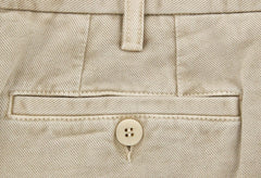 New $350 Rota Beige Solid Pants - Full - (2902C2940042) - Parent