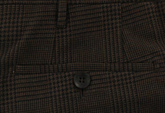 New $450 Rota Dark Brown Plaid Pants - Full - (CENTO2C667044) - Parent