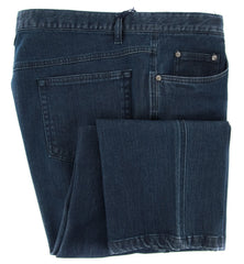 New $325 Rota Denim Blue Solid Jeans - Slim - ��46/62 - (NEWG5CEL997013)