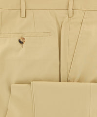 New $400 Rota Beige Solid Pants - Full - (PADOVA2C155002) - Parent