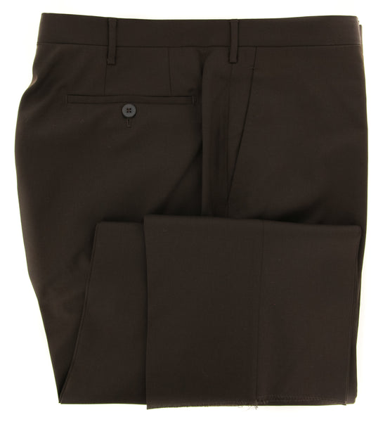 New $450 Rota Brown Solid Pants - Full - (STEWE2C34013) - Parent