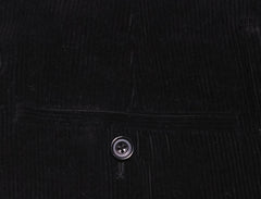 $600 Sartoria Attolini Black Solid Wool Pants - Slim - (1193) - Parent