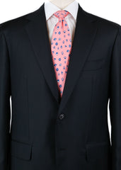 New $3600 Sartorio Napoli Midnight Navy Blue Slid Suit - (UA200S512901C6) - Parent