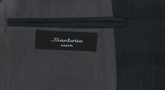 New $3600 Sartorio Napoli Gray Wool Plaid Suit - (UA200S512936C7) - Parent