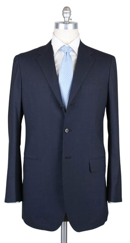 Sartorio Napoli Navy Blue Suit - 43 US / 53 EU